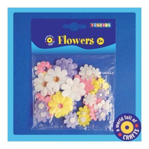 PLAYBOX öntapadós virágok 36db