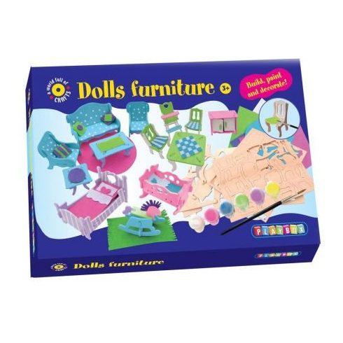 Kreatív hobby - Készletek - PLAYBOX bababútor készítés