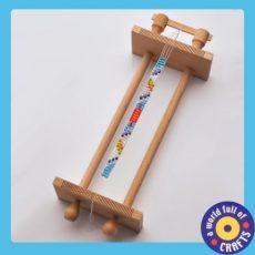 Készségfejlesztő - Fűzős játékok - Szövőkeret gyöngyökhöz