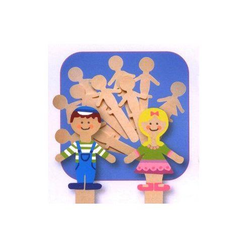 Kézműves kellékek - fa pálcikák