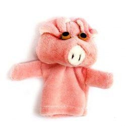 Játékbabák - Bábok - Malac ujjbáb