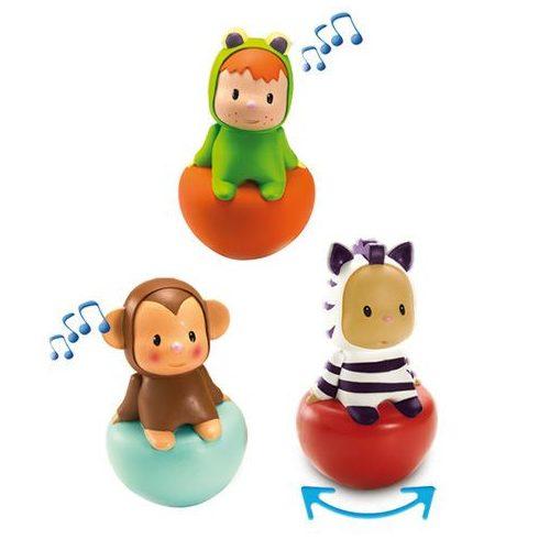 Zenélő játékok - Smoby Cotoons - Zenélő keljfeljancsi békás