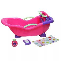 Élethű játékbabák - Élethű Berenguer babákhoz kiegészítő - Nagy exkluzív fürdetőkád tartozékokkal
