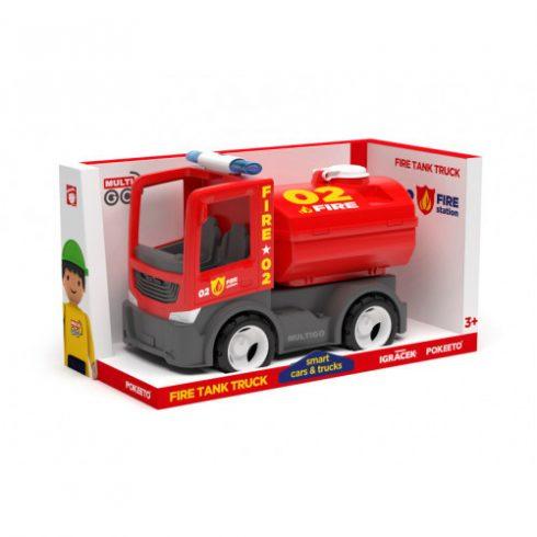 Műanyag járművek - Multigo Tűzoltó tartály Singlepack