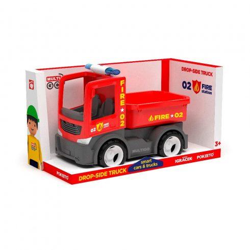 Multigo Tűzoltó platós teher Singlepack