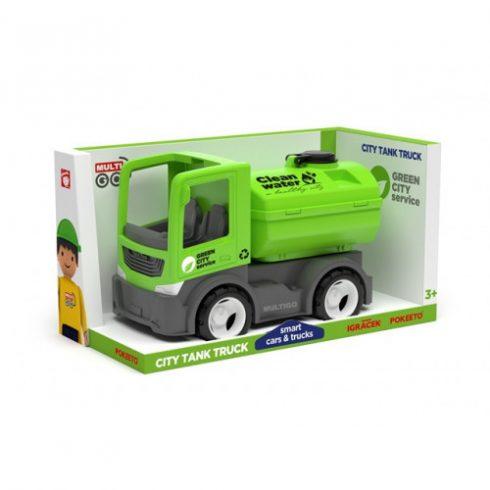 Műanyag járművek - Multigo City kukásautó Singlepack