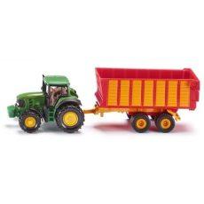 Kis autók - Járművek gyerekeknek - Játék autók - SIKU traktor pótkocsival