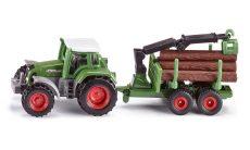 Kis autók - Járművek gyerekeknek - Játék autók - SIKU traktor rönkpakoló