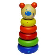 Montesszori játékok - Fa macis montesszori