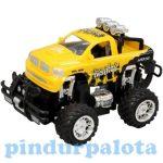 Távirányítós autók - Monster autó fénnyel és hanggal sárga színben 1/22 - Jamara Toys. RC Terepjáró