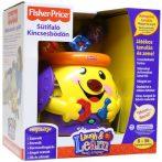 Fisher Price játékok - Sütifaló Kincsesbödön formabedobálós játék
