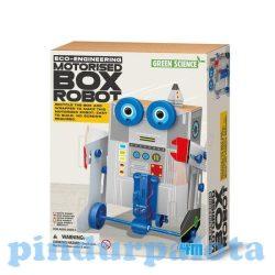 Építőjátékok gyerekeknek - Építsd magad dobozos robot kreatív szett