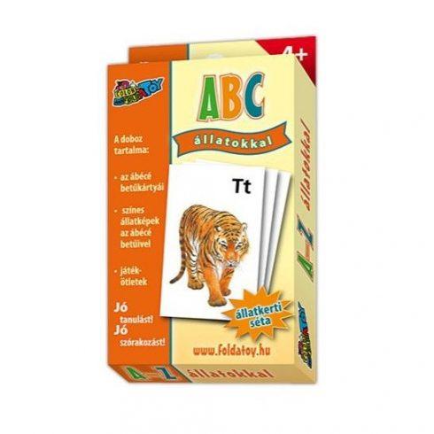 Társasjátékok gyerekeknek - Kártya ABC állatos