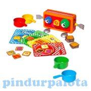 Ügyességi társas játékok - Ugró pirítós társasjáték