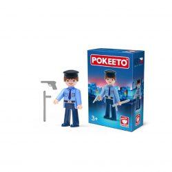 Gyűjthető figurák - Rendőr nyomozó POKEETO
