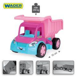 Műanyag járművek - Gigant Truck dömper rózsaszín