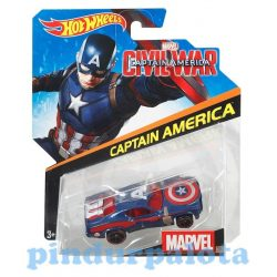 Hot Wheels autók - Hot Wheels Marvel karakter kisautók