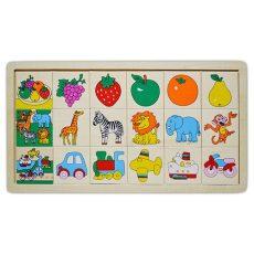 Fa játékok - Képkereső csoportosító játék