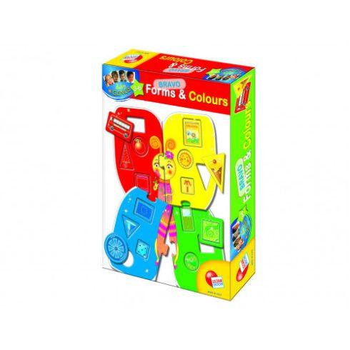 Baby kirakók - Puzzle - Bravó Formák és színek berakó puzzle
