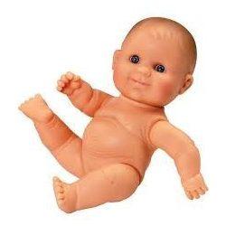 Játékbabák - Hajas babák kislányoknak - Játékbaba műanyag meztelen lány