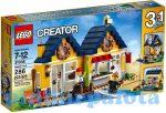Építőjátékok - Építőkockák - 31035 LEGO Creator Tengerpati házikó