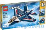 Építőjátékok - Építőkockák - 31039 LEGO Creator Kék vadászrepülő