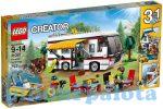 Építőjátékok - Építőkockák - 31052 LEGO Creator Hétvégi kiruccanás