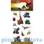 Matricák gyerekeknek - Tetkó matrica Dinotrux 100x200mm