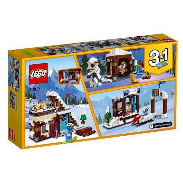 LEGO Creator - Kreatív építés - LEGO Creator 31080 Moduláris téli vakáció