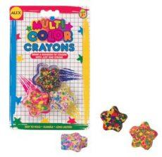 Festékek - Kréták - Csillag alakú multicolor Zsírkréta