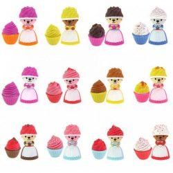 Gyűjthető figurák - Sütimaci - mini többféle változatban