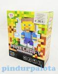 Építőjátékok gyerekeknek - Minecraft építő játék 231 db-os