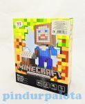 Építőjátékok gyerekeknek - Minecraft Építő játék 258 db-os