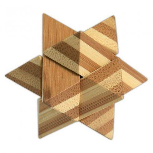 Logikai csillag (kicsi,bambusz)
