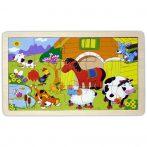 Puzzle kirakók - Farmos puzzle 15 db