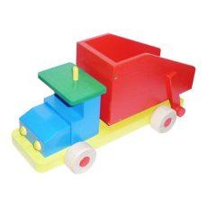 Színes billenős teherautó