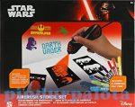 Kreatív hobby készletek a gyermeki kreativitás kibontakozásához - Star Wars festékszórós tetováló sz