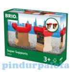 Játék vonatok - Brio szuper domb
