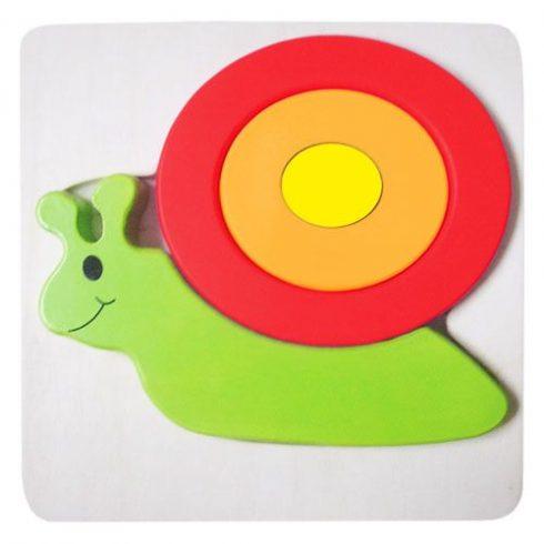 Magasított puzzle babáknak - Csigás