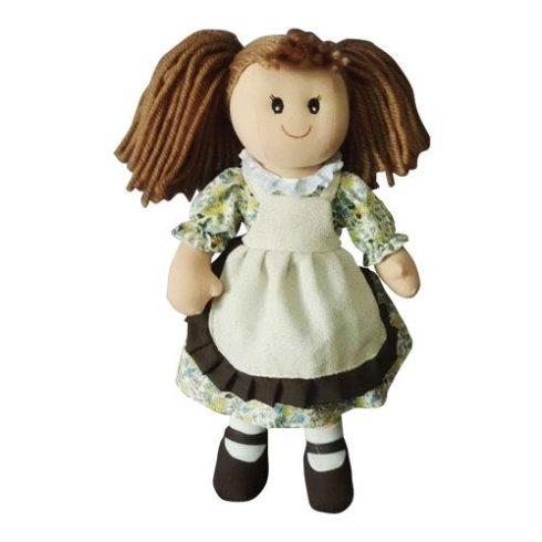 Rongybaba - Lány - Barna, krém, 15 cm
