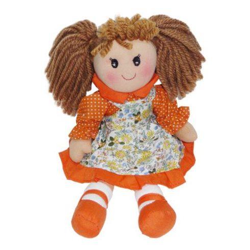Rongybaba - Lány - Narancs, 30 cm