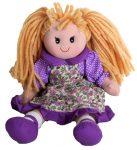 Rongybaba - Lány - Lila,30cm