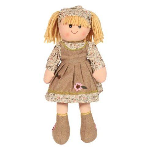 Rongybaba - Lány - Szőke, krém, 40 cm