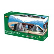 Járművek vonatok - összeomló híd brio