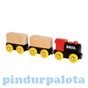Járművek - Játék vonatok - Klasszikus vonat Brio