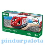 Vonatok - Elemes utasszállító mozdony Brio