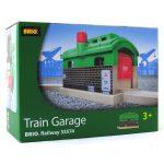 Járművek - Játék vonatok - Garázs szett Brio
