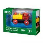 Járművek - Vonatok - Brio - Elemes mozdony tolató
