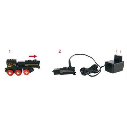 BRIO - Újratölthető Mozdony