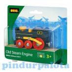 Vonatok - Brio régi gőzmozdony